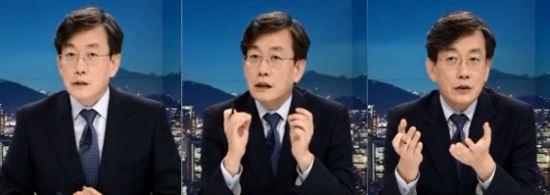 """""""손석희의 뒤끝 작렬?""""… JTBC뉴스룸 백남기씨 상태 집중보도 기사의 사진"""