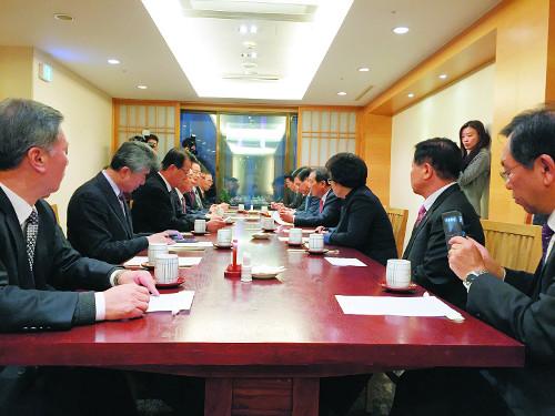 한국교회 대통합 교단장회의서 이끈다… 교단장회의 첫 임원회 기사의 사진