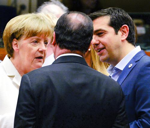 [2015 국제 10대 뉴스] (10) 그리스 구제금융 협상… 치프라스 '그렉시트'로 위협 기사의 사진