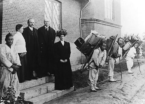 [2015 한국교회 10대 뉴스]  언더우드·아펜젤러·스크랜턴… 선교 130주년 기사의 사진