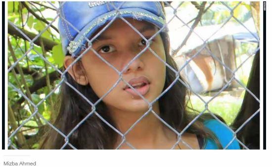 10살 난민 소녀 2년 넘게 잡아 가두는 '아이들의 지옥'  호주 나우루섬 수용소 기사의 사진