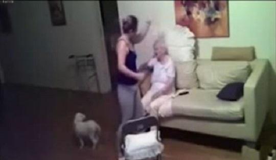 """[영상] """"믿고 3년이나 맡겼는데"""" 치매 할머니 학대한 간병인 기사의 사진"""