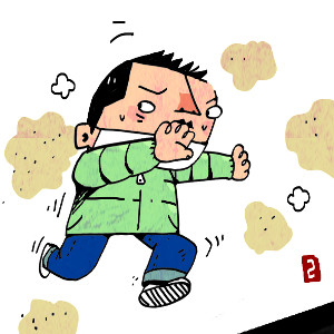 [이기수 기자의 건강쪽지] 폐질환 위험 높이는 초미세먼지+매연 기사의 사진