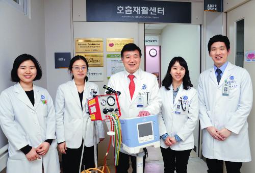 [명의&인의를 찾아서-(54) 강남세브란스병원 호흡재활센터] 호흡근육 마비환자들에 생명의 숨 선물 기사의 사진