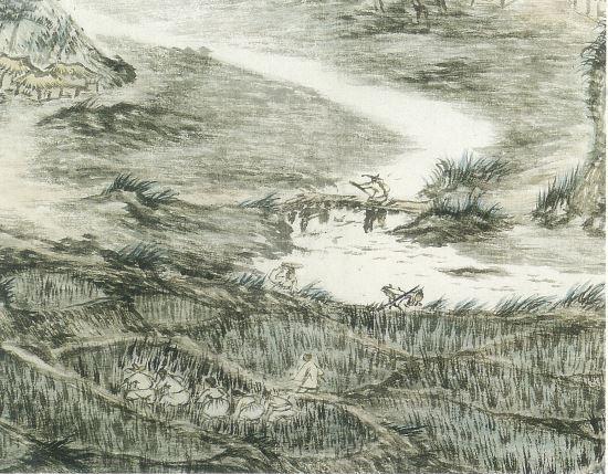 [영옥씨의 미술 바구니] 14. 20세기 겸재 정선 ... 변관식 40주기전 기사의 사진