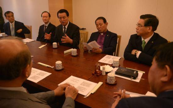 교단장회의, 퀴어문화축제 반대 국민대회에 협력한다 기사의 사진