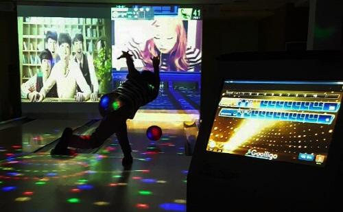 스크린야구에 이어 스크린볼링 출시 기사의 사진