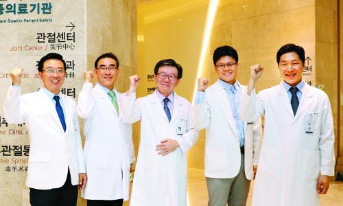 [명의&인의를 찾아서-(69) 가천대길병원 척추센터] 절개 최소화 고령자 맞춤형 '척추 내시경 수술' 1번지 기사의 사진