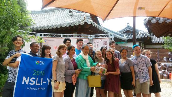 미 국무부 파견 고교생 전주에서 한국어와 한국문화 '열공' 기사의 사진