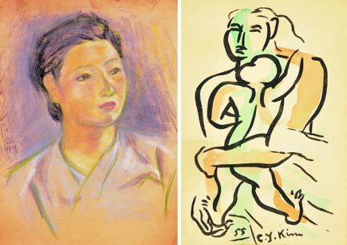 작품으로 남긴 '평생의 모델' 아내… 한국 추상조각의 선구자 고 김종영 '조각가의 아내' 展 기사의 사진