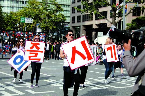 [축제와 축제 사이] <36> 춤바람 난 원주시 기사의 사진