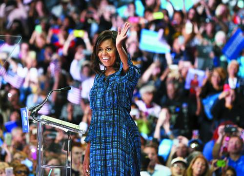 [2016 미국의 선택] 힐러리의 '히든카드' 미셸 기사의 사진