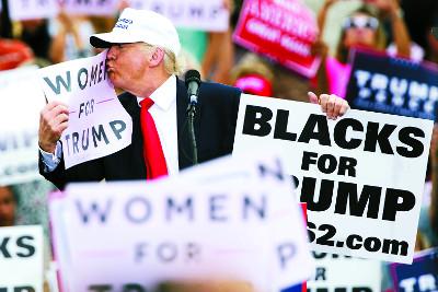 [2016 미국의 선택] 트럼프, 이번엔 성추행 기사의 사진
