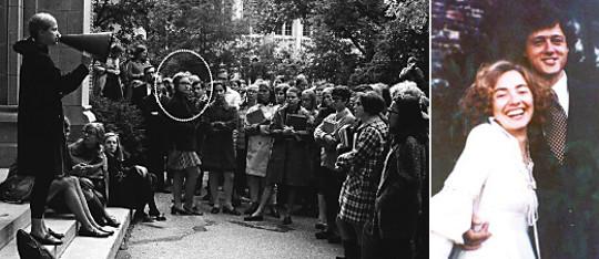 [월드 이슈] 민주당 대선후보 힐러리 클린턴, '불합리'에 저항… 대학시절 그녀는 투사였다 기사의 사진