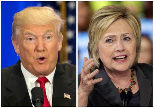 [2016 미국의 선택] 이제 2주… 힐러리, 지지율 격차 12%P까지 벌려 기사의 사진