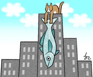 [한마당-정진영] 고양이에게 맡긴 생선 기사의 사진