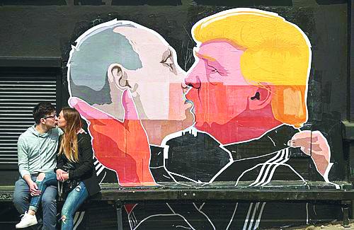[트럼프 시대-시리즈(4·끝)]  트럼프-푸틴 궁합에 속타는 유럽 기사의 사진