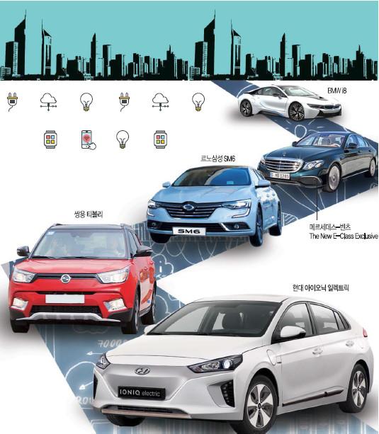 벤츠, 모델별로 다양한 고성능 차량 선보여 기사의 사진