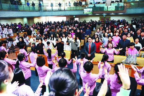 주일학교 학생 1000명 넘는 '다음세대 교회' 기사의 사진