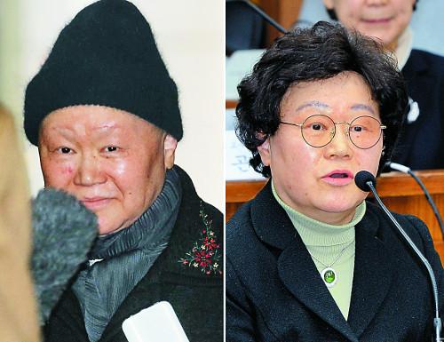 초췌한 김경숙 前 이대 학장 특검 출석 기사의 사진
