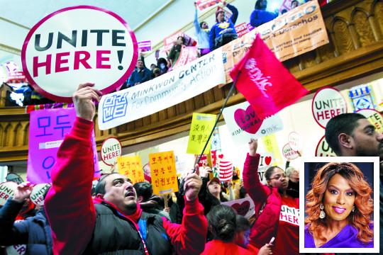 '분열의 트럼프 취임식' 민주 의원·톱스타 보이콧 '확산'… 물 건너간 '大통합' 기사의 사진