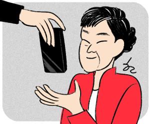 [한마당-이명희] 대통령의 대포폰 기사의 사진
