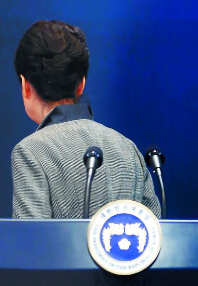 공법과 정의를 강물같이… 헌재, 朴 대통령 탄핵 결정 기사의 사진