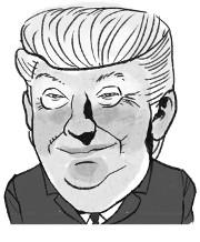 """트럼프 """"그는 매우 매우 나쁘게 행동""""… 또 김정은 맹비난 기사의 사진"""