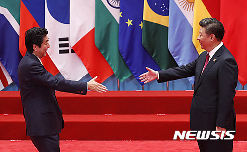 시진핑-아베 7월 회담 추진 기사의 사진