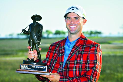 골프 '트릭샷 달인' 생애 첫 우승 기사의 사진