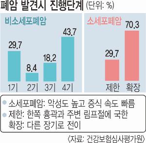 '사망률 1위' 폐암 44%가 4기 발견 기사의 사진