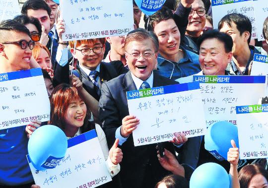 민주, 사전투표 독려 '투대문 Vote 작전' 돌입 기사의 사진