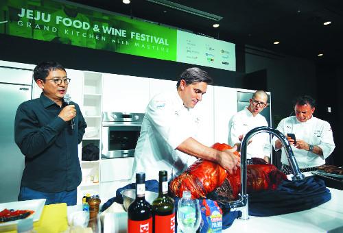 스타 셰프 20명, 제주 미식관광 축제 '요리' 기사의 사진