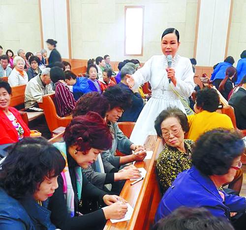 '전도왕' 구순연 집사, 새생명 전도집회 교회마다 놀라운 역사 기사의 사진