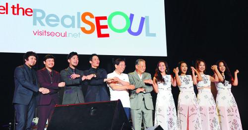 박원순, 한류 스타들과 동남아 관광객 유치 나서 기사의 사진