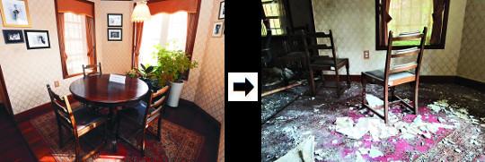 화재 후 6개월… 방치된 연세대 '언더우드 기념관' 기사의 사진