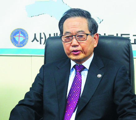"""황의춘 목사 """"선교사-한인 교회 네트워크 다지는 데 힘 쏟을 것"""" 기사의 사진"""