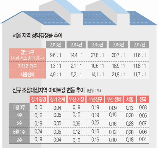 [6·19 부동산 대책] LTV·DTI 강화… 가계부채 억제 효과는 미미, 투기 차단 주력 기사의 사진
