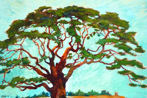 [미술산책] 기꺼이 그늘이 되어주는 나무 기사의 사진