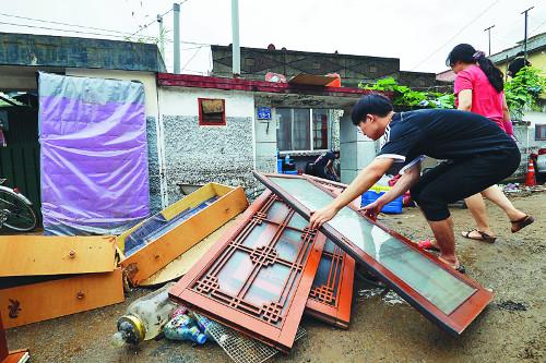 290㎜ '게릴라 폭우'에… 속수무책으로 당한 청주 기사의 사진