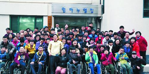 [역경의 열매] 김경식 <12·끝> 기독교인부터 장애인을 형제자매로 대해주기를 기사의 사진