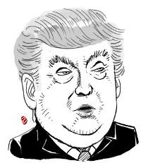 """트럼프 '화염과 분노' 발언, 백악관 """"즉흥적 표현"""" 해명 기사의 사진"""