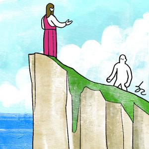 [겨자씨] 절벽에서 만나는 생명의 예수님 기사의 사진