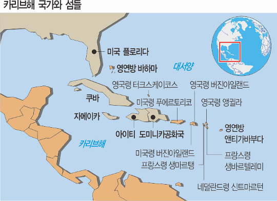 '어마' 덮친 카리브해, 강대국 지원 쏟아진 까닭은… 기사의 사진
