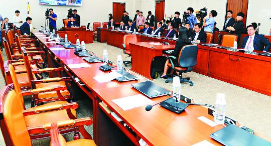 '박성진 부적격'… 당·청 엇박자, 정국운영도 '삐걱' 기사의 사진