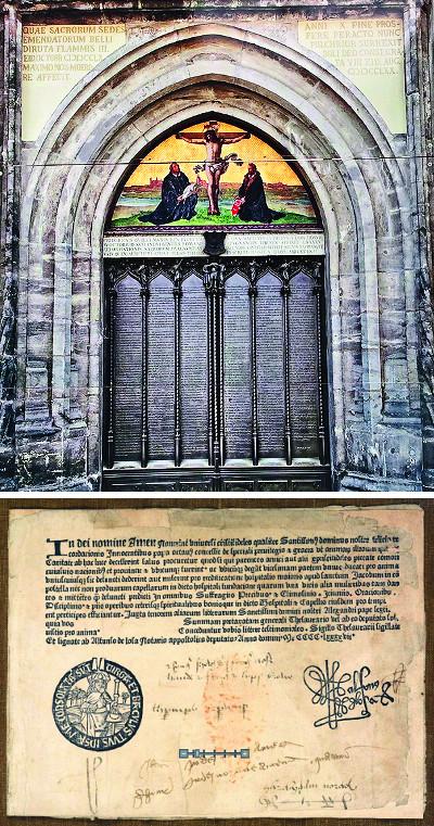 [마르틴 루터 95개조 반박문 따라잡기 (上)] 종교개혁 시발점 된 루터 반박문의 성격은? 기사의 사진