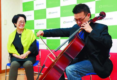 [예수청년] 음악으로 극복한 장애… 행복을 연주해요 기사의 사진