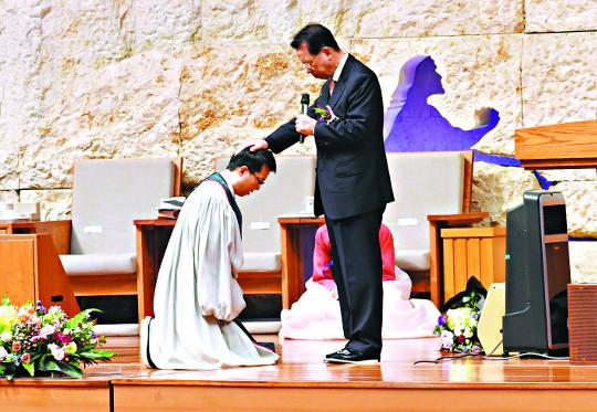 명성교회 김하나 목사 취임 기사의 사진
