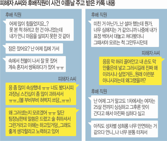 [단독]'성추행' 신고했더니… 직장서 '왕따' 돼 있었다 기사의 사진
