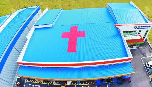 [일과 신앙] '뷰티화장품', 회장은 예수님… 공장 지붕엔 대형 십자가 기사의 사진